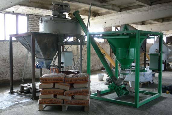 Сухие строительные смеси(производство)