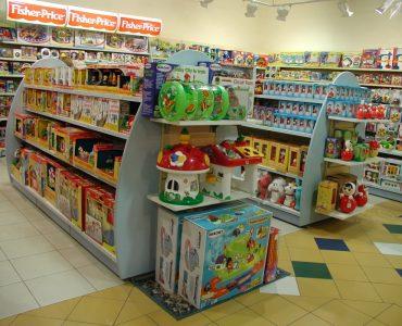витрина детского магазина